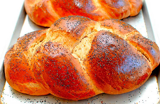 Margaret's Challah recipe as made by Kay Heritage, aka The Church Cook