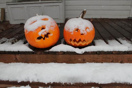 Happy (white!) Halloween