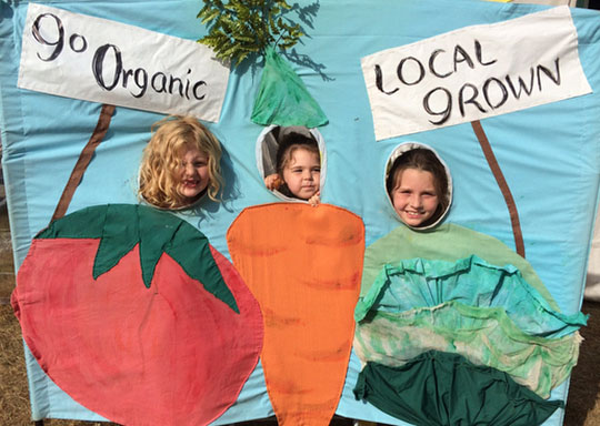 Our organic girls!