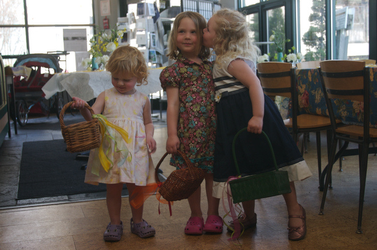 Bea, Charlotte & Flora in the Eastover finery