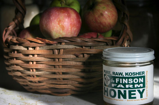 Recipe for a sweet new year: Ten Apple Farm Apples and Finsom Farm honey from Brunswick, Maine